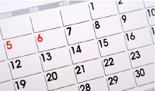 協会行事カレンダー